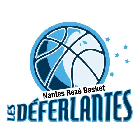 Logo Nantes Rezé Basket déferlantes