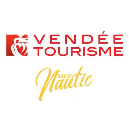 logo salon Nautic Vendée Tourisme